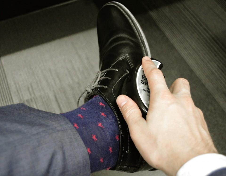 skórzane buty do garnituru